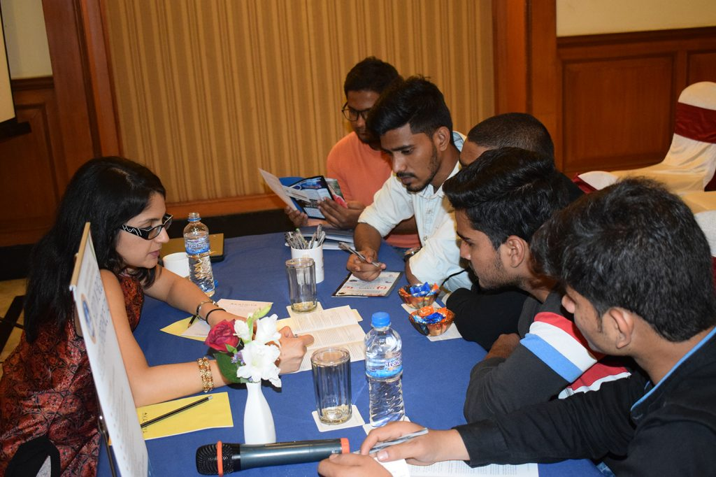 Glimpse of Education Fair at orient spectra 13