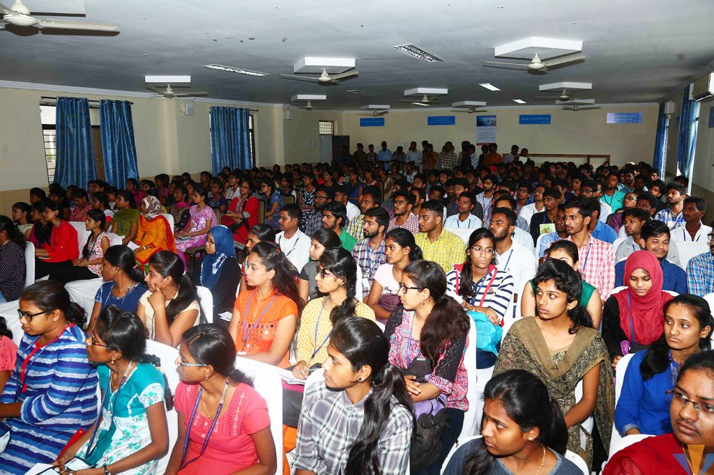 Glimpse of Education Fair at orient spectra 5