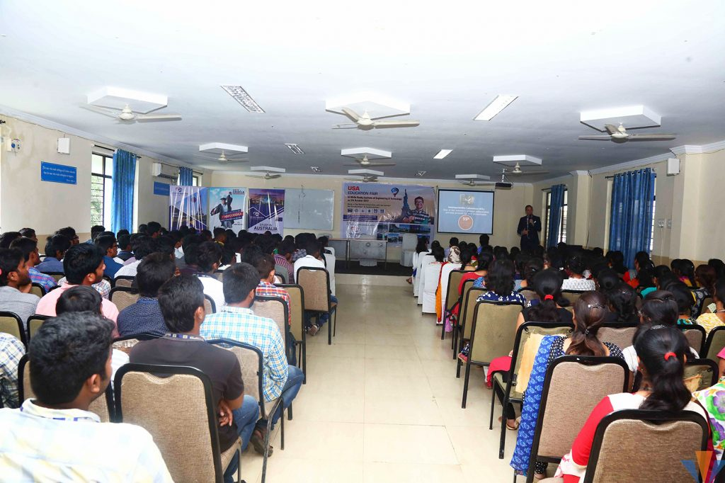Glimpse of Education Fair at orient spectra 6