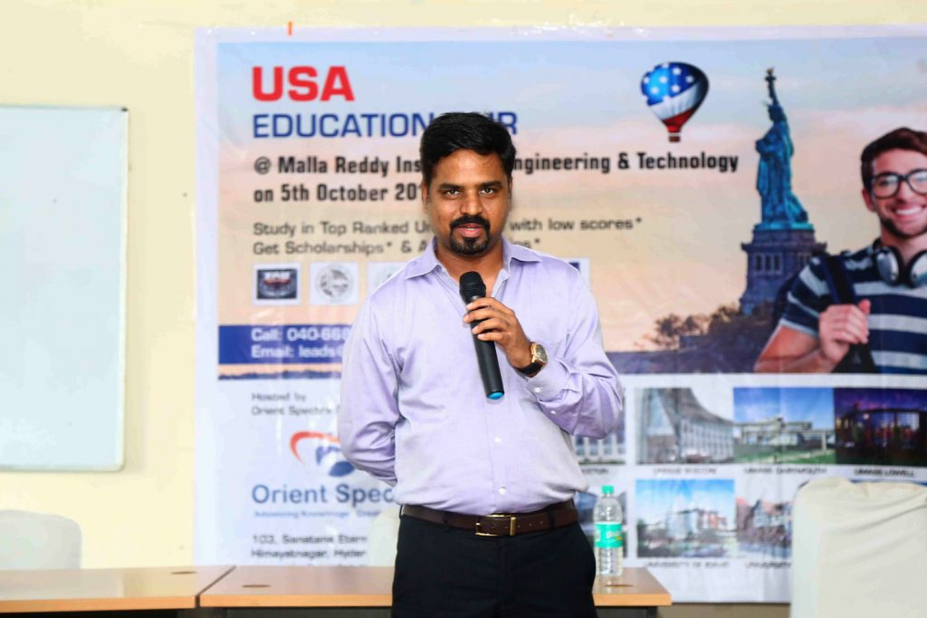 Glimpse of Education Fair at orient spectra 9